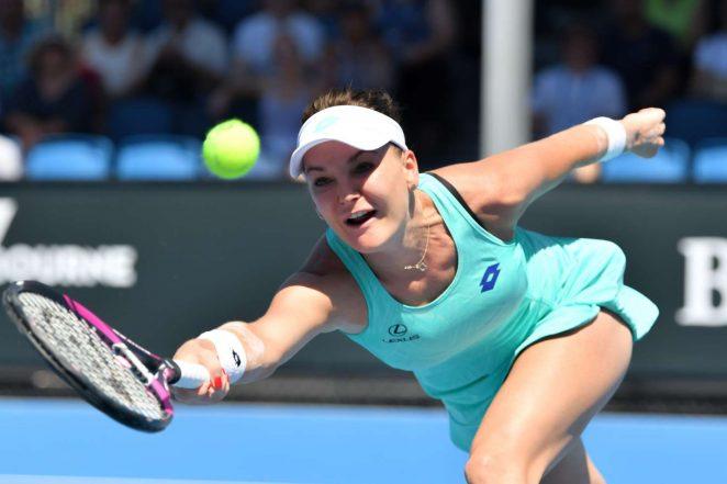 Agnieszka Radwanska - 2018 Australian Open in Melbourne - Day 4
