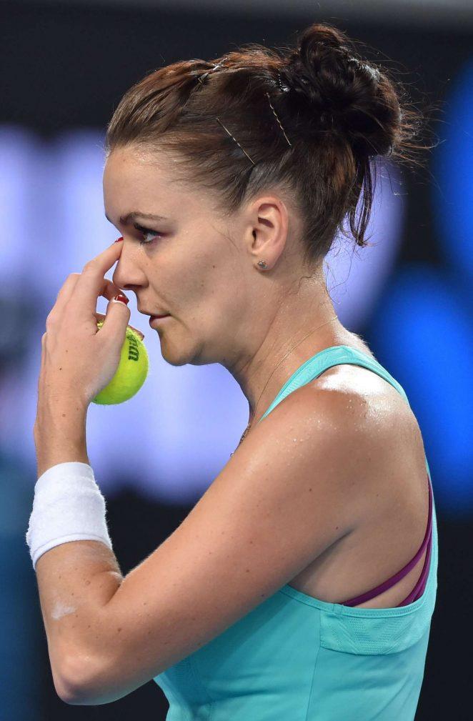 Agnieszka Radwanska - 2018 Australian Open in Melbourne - Day 6