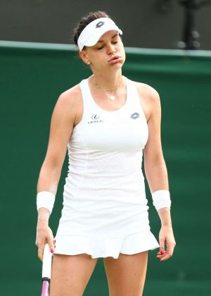 Agnieszka Radwanska - 2018 Wimbledon Tennis Championships in London Day 3