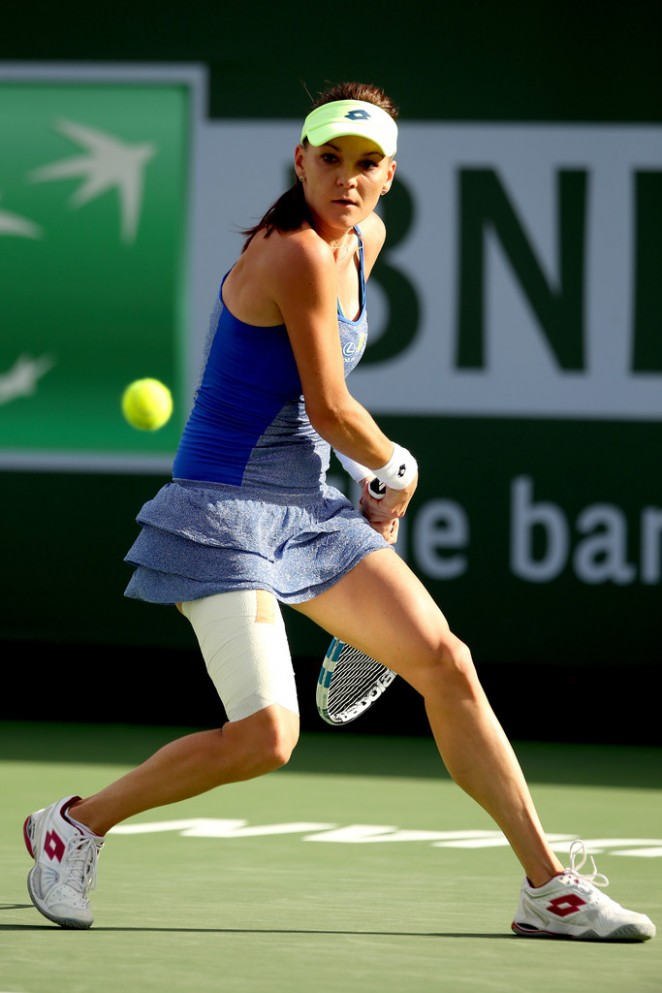 Agnieszka Radwanska - BNP Paribas Open 2016 in Indian Wells