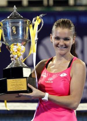 Agnieszka Radwanska - World Tennis Thailand Championship 2016 in Thailand