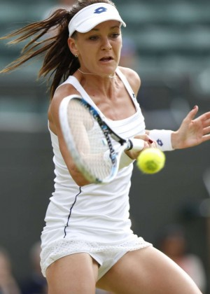 Agnieszka Radwanska - Wimbledon Lawn Tennis Championships 2015 in London - Quarter Final