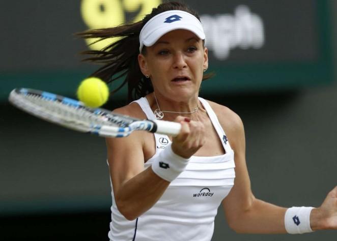 Agnieszka Radwanska: Wimbledon 2015 – Quarter Final -05