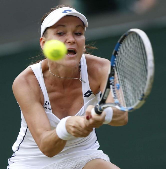 Agnieszka Radwanska: Wimbledon 2015 – Quarter Final -06