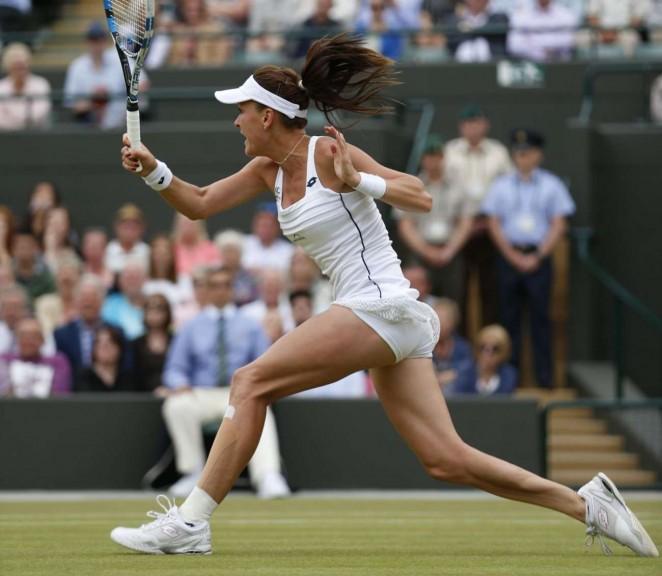 Agnieszka Radwanska: Wimbledon 2015 – Quarter Final -08