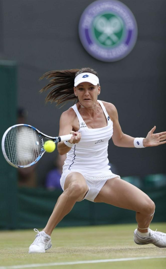 Agnieszka Radwanska: Wimbledon 2015 – Quarter Final -09