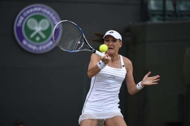 Agnieszka Radwanska: Wimbledon 2015 – Quarter Final -11