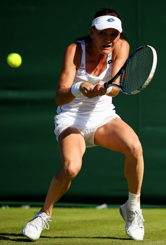 Agnieszka Radwanska - Wimbledon Tennis Championships 2015 in London