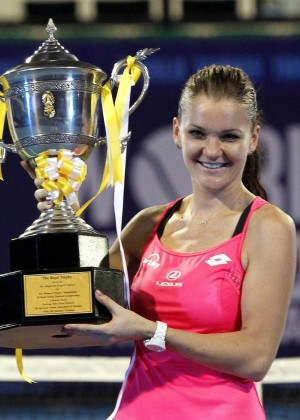 Agnieszka Radwanska - World Tennis Thailand Championship 2016