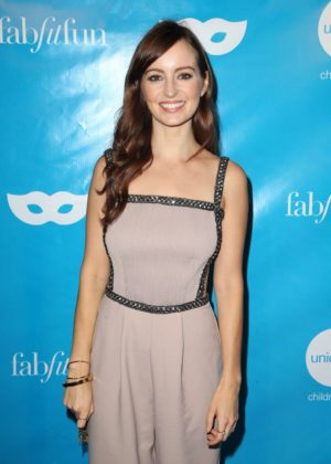Ahna O'Reilly - UNICEF Masquerade Ball 2017 in Los Angeles