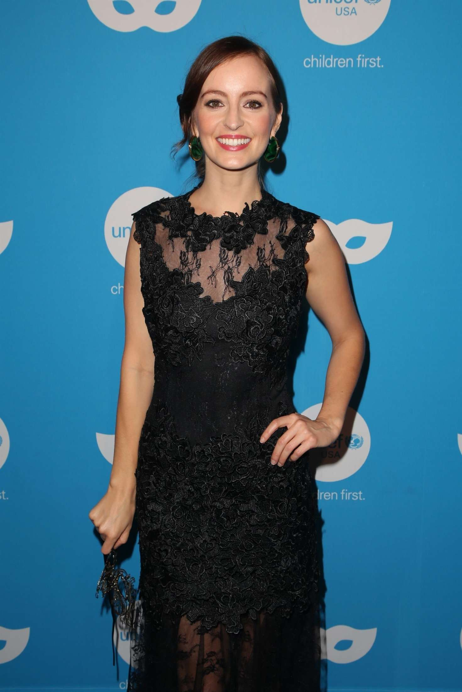 Ahna O'Reilly - UNICEF Masquerade Ball 2018 in Los Angeles