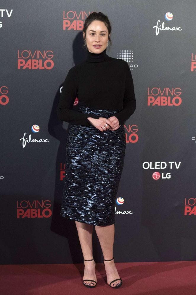 Aida Folch - 'Loving Pablo' Premiere in Madrid