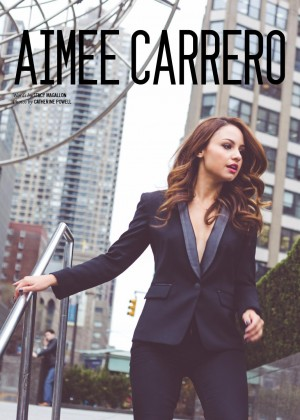 Aimee Carrero - NKD Magazine Cover (July 2015)