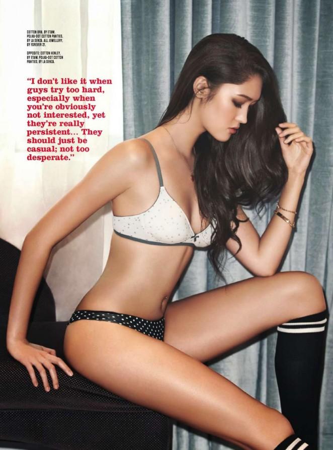 Aimee Cheng-Bradshaw - FHM Singapore Magazine (March 2015)