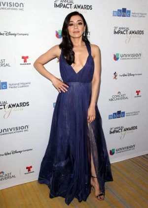 Aimee Garcia - 2018 National Hispanic Media Coalition Impact Awards in LA
