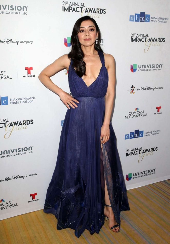 Aimee Garcia - 2018 National Hispanic Media Coalition Impact Awards in LA