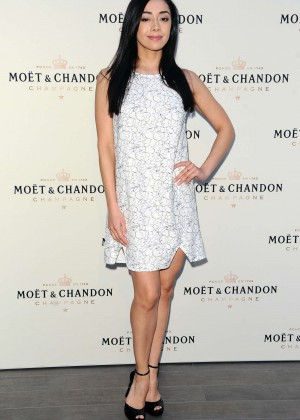 Aimee Garcia - Moet & Chandon toasts Roger Federer's 1,000th Career Win in Beverly Hills