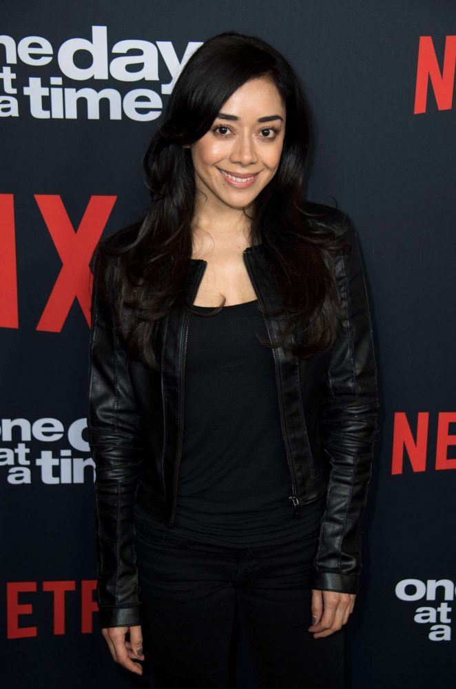 Aimee Garcia – Netflix 'One Day At A Time' Season 2 Premiere in Hollywood