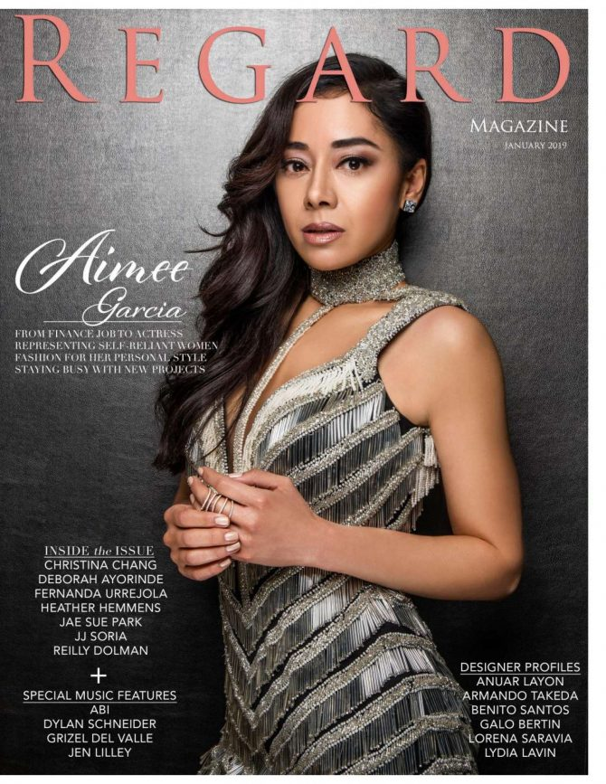 Aimee Garcia - Regard Magazine (January 2019)