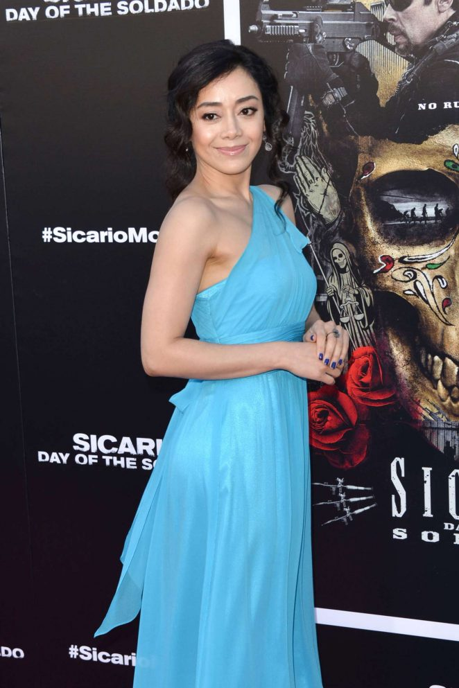 Aimee Garcia – 'Sicario: Day of the Soldado' Premiere in Los Angeles