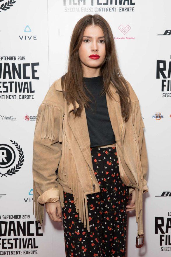 Aimee Kelly - 'Vue West End' Premiere at Raindance Film Festival in London