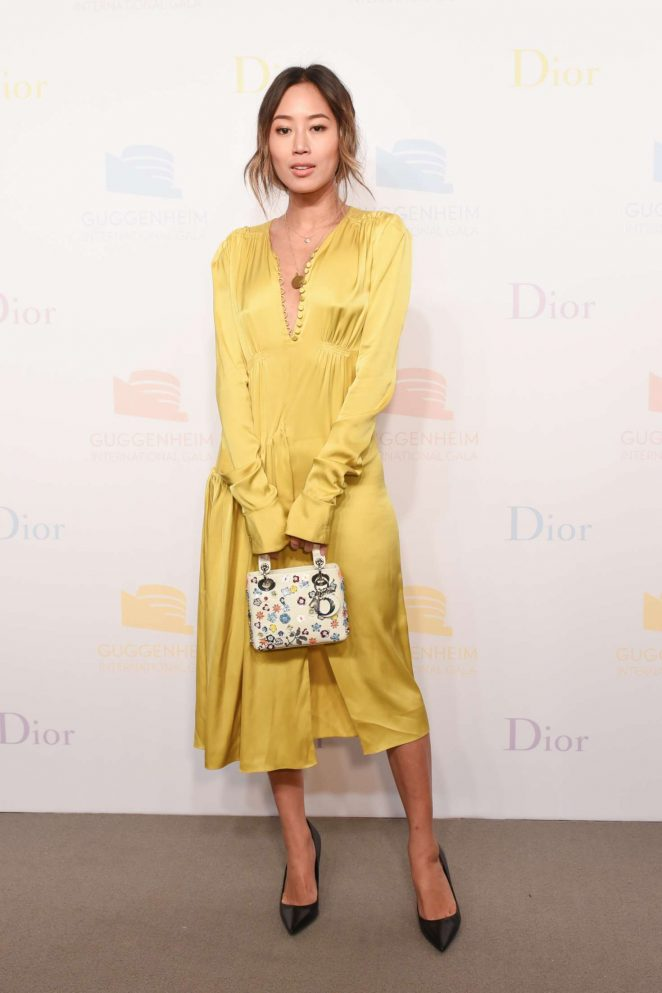 Aimee Song - 2016 Guggenheim International Gala Dior Party in NYC