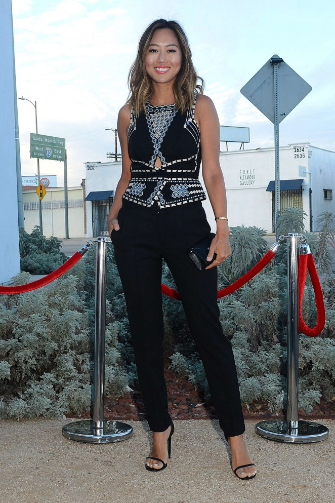 Aimee Song - BCBG Max Azria Presents The Resort 2016 Collections in LA