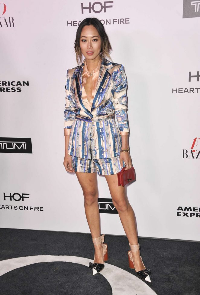 Aimee Song - Harper's Bazaar Celebrates 150 Most Fashionable Women in West Hollywood