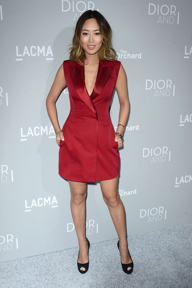 Aimee Song - Orchard Premiere of Dior and I in Los Angeles