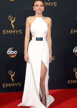 Aimee Teegarden - 2016 Emmy Awards in Los Angeles