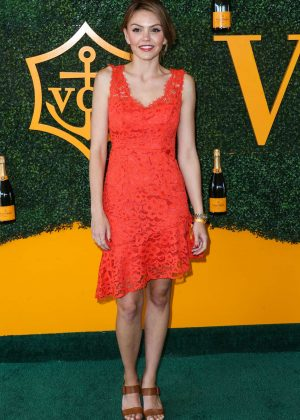 Aimee Teegarden - 2016 Veuve Clicquot Polo Classic in Pacific Palisades