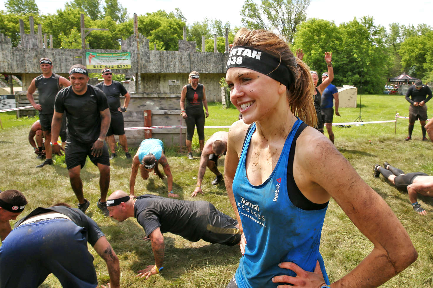 Aimee Teegarden 2016 : Aimee Teegarden: Competing in the Spartan Super Race -10