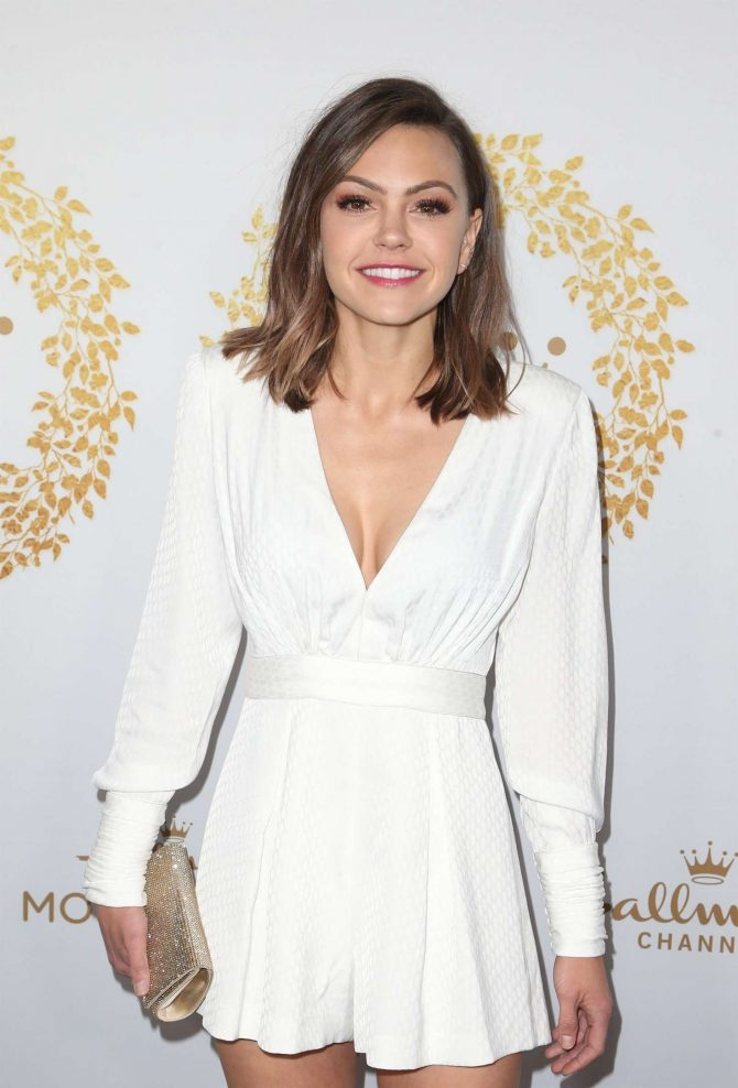 Aimee Teegarden - Hallmark Channel 2019 Winter TCA Tour in Pasadena