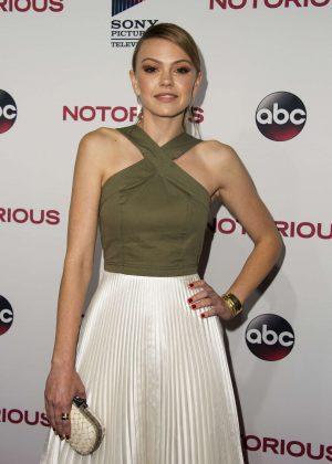 Aimee Teegarden - 'Notorious' Premiere in Los Angeles