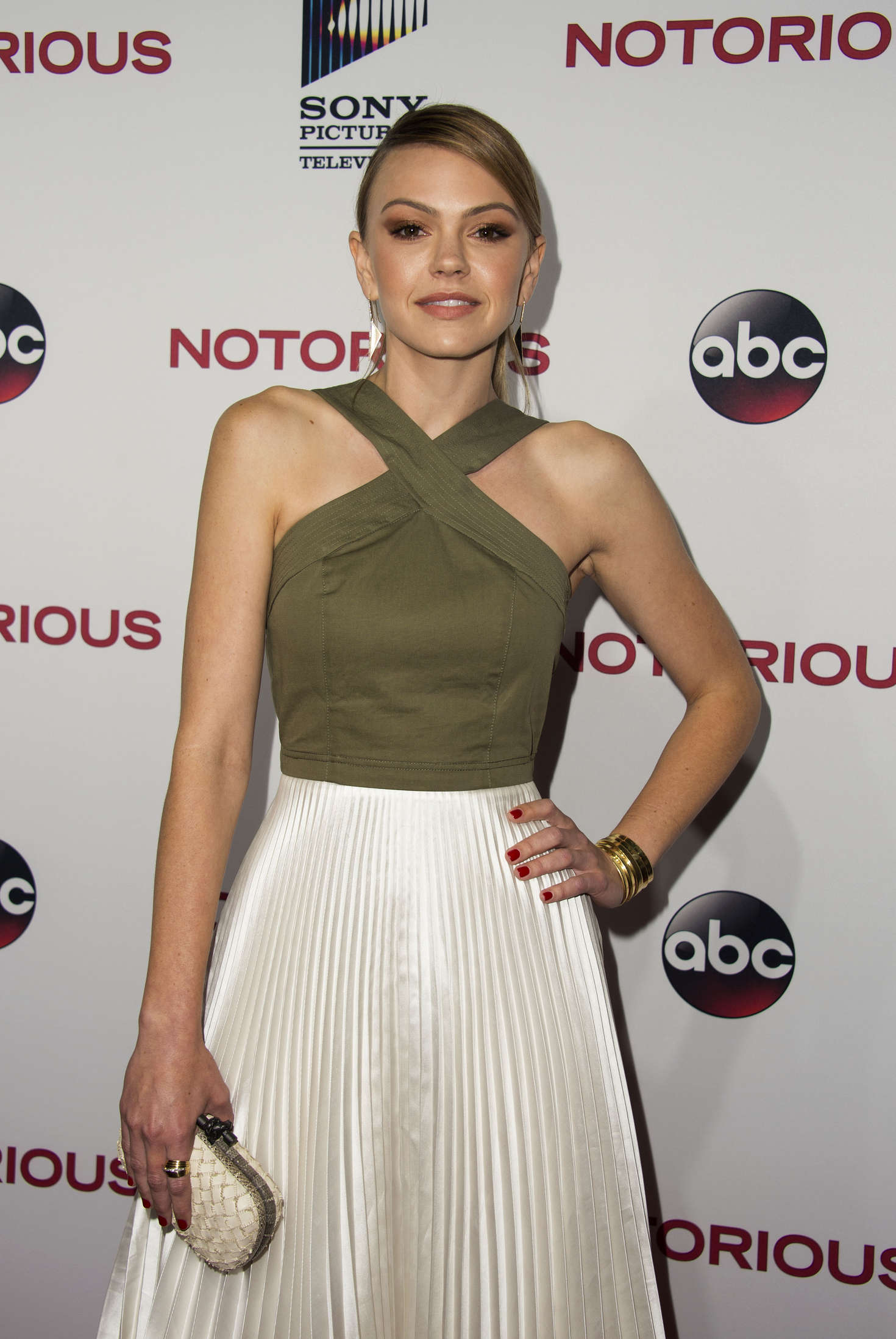 Aimee Teegarden - 'Notorious' Premiere in Los Angeles