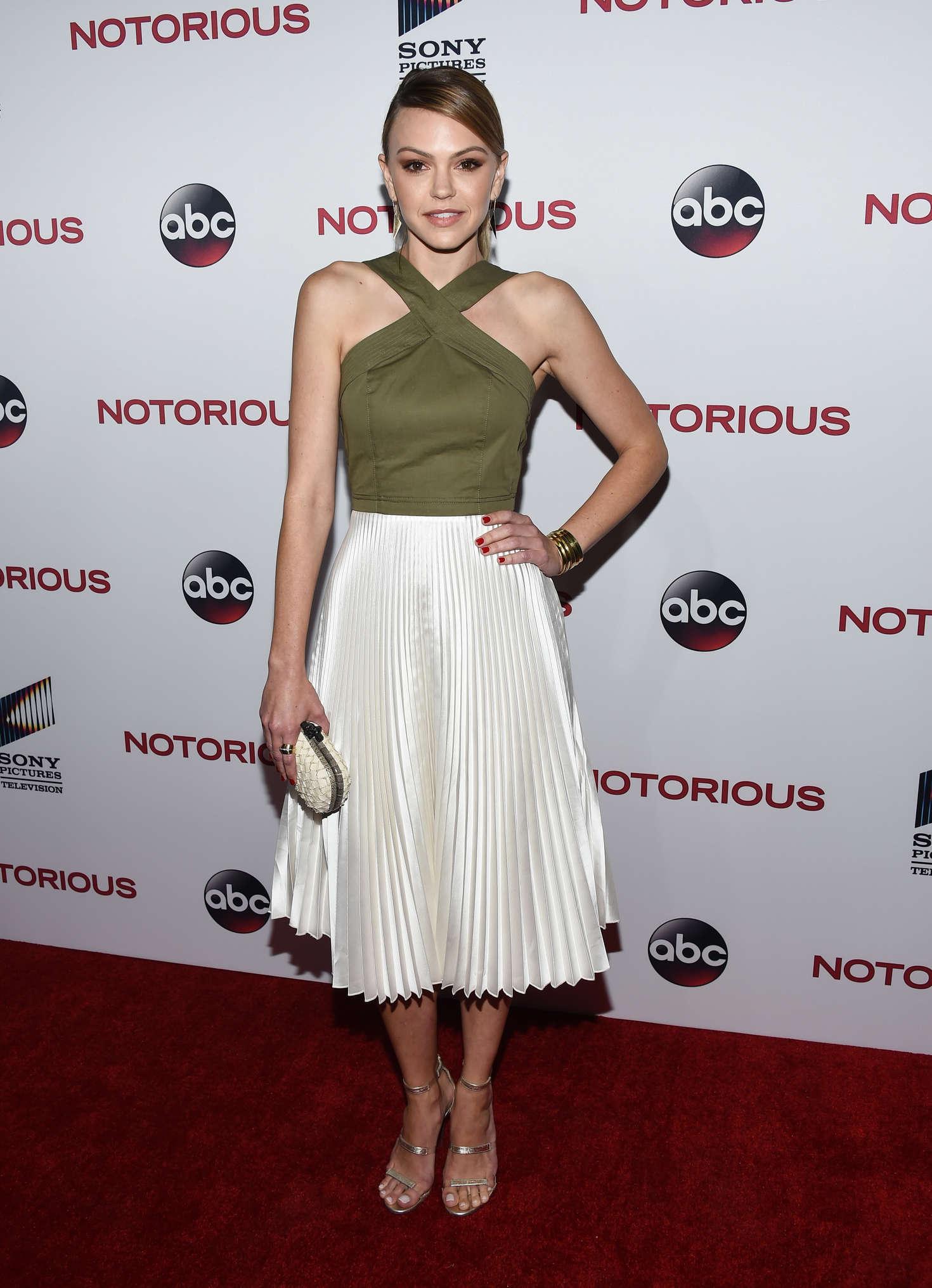 Aimee Teegarden 2016 : Aimee Teegarden: Notorious LA Premiere -23