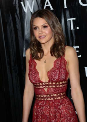 Aimee Teegarden - 'Rings' Premiere in Los Angeles