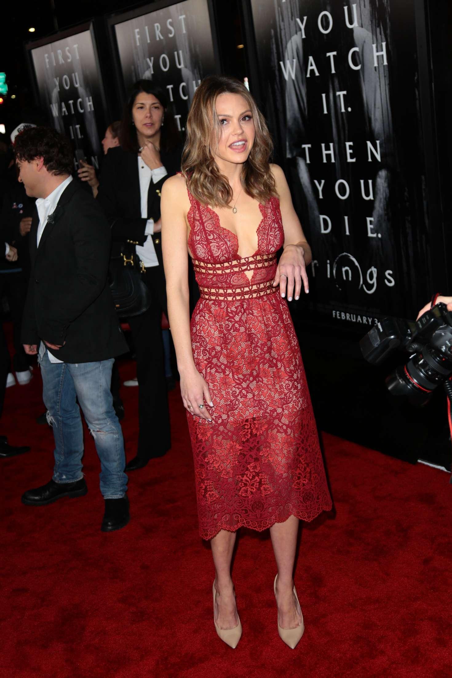 Aimee Teegarden 2017 : Aimee Teegarden: Rings LA Premiere -12