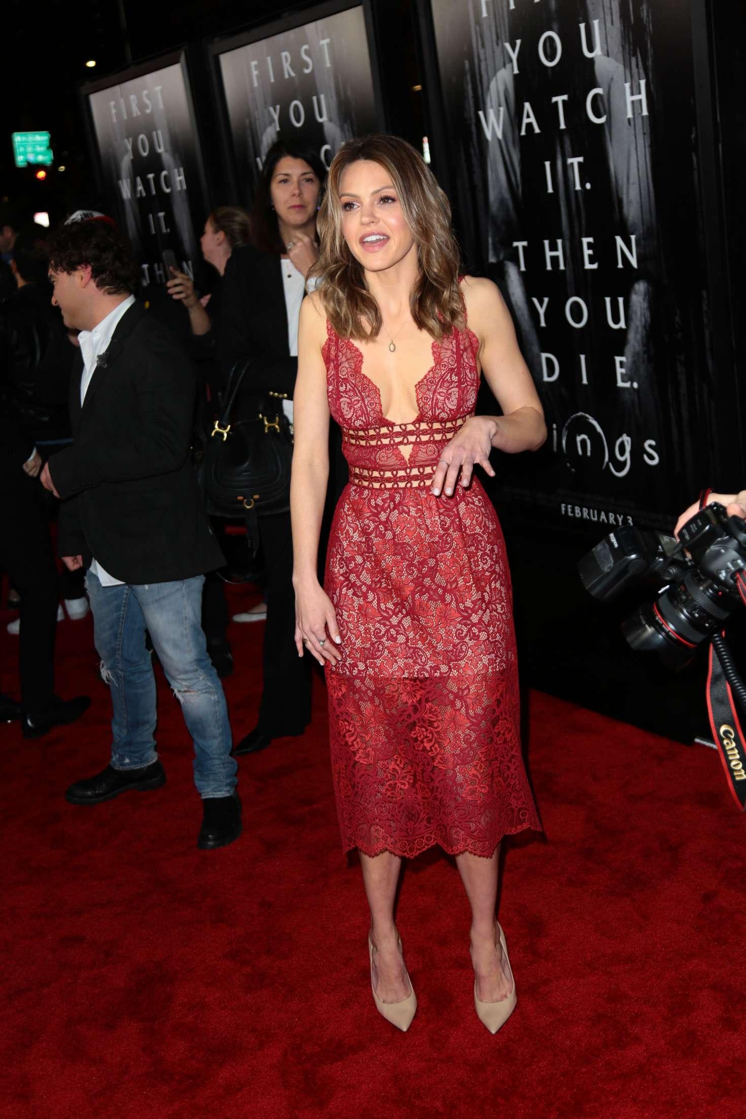 Aimee Teegarden 2017 : Aimee Teegarden: Rings LA Premiere -33