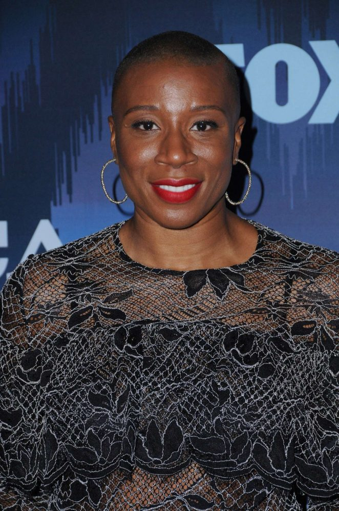 Aisha Hinds - 2017 FOX Winter TCA All Star Party in Pasadena