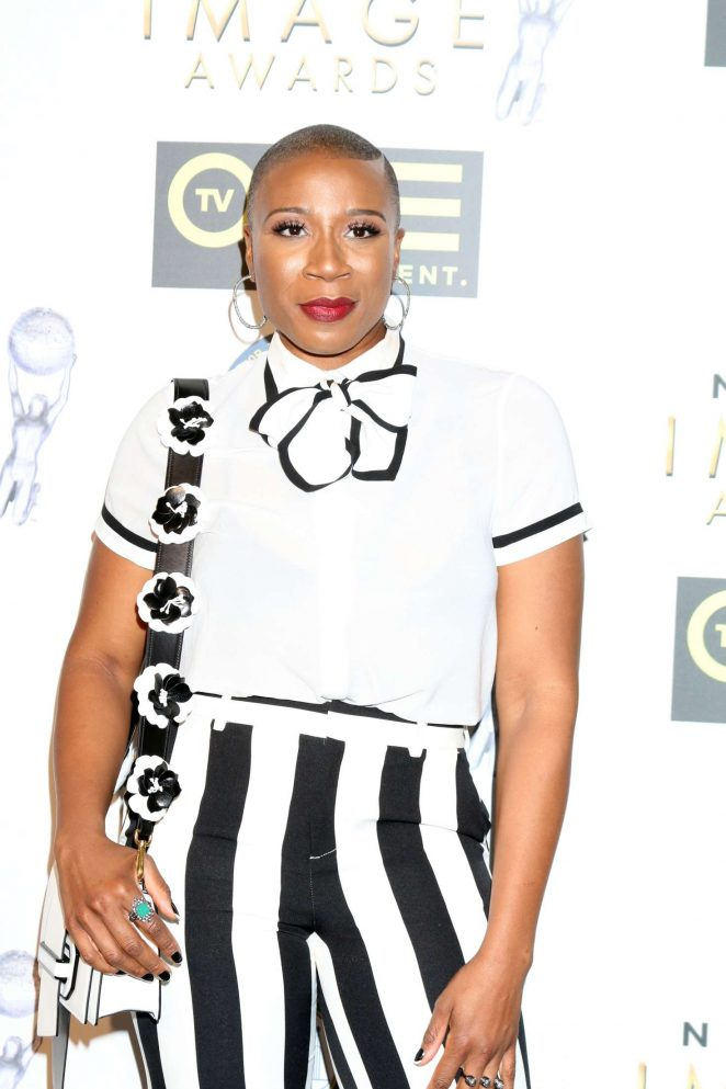 Aisha Hinds - Non-Televised 48th NAACP Image Awards in Pasadena