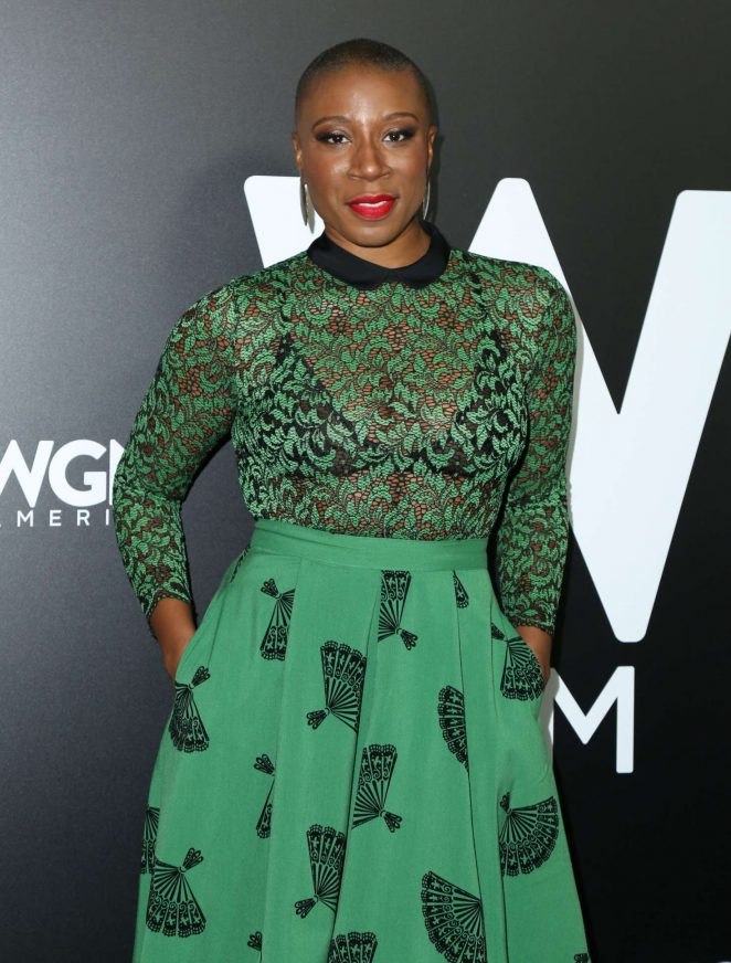 Aisha Hinds - 'Underground' and 'Outsiders' Premiere Event in Pasadena