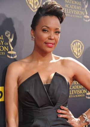 Aisha Tyler - 2015 Daytime Emmy Awards in Burbank