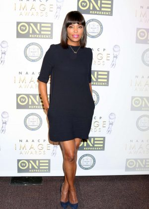 Aisha Tyler - Non-Televised 48th NAACP Image Awards in Pasadena