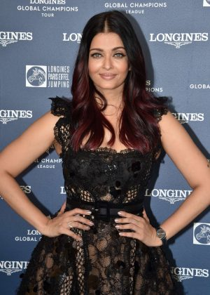 Aishwarya Rai - Longines Global Champions Tour in Paris