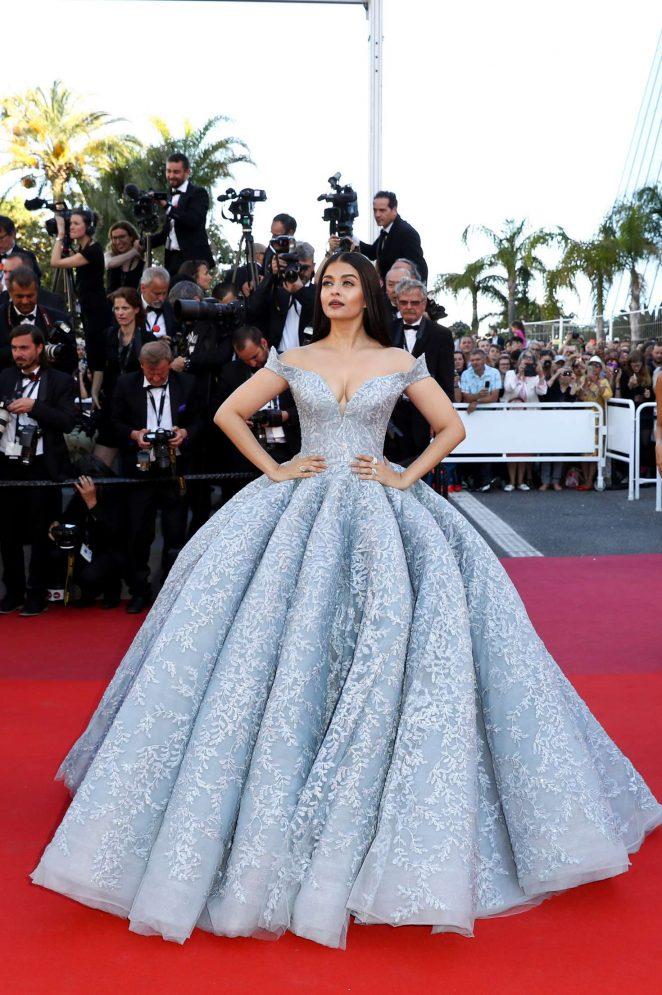 Aishwarya Rai - 'Okja' Premiere at 70th annual Cannes Film Festival