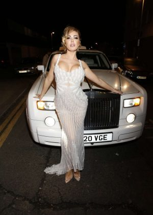 Aisleyne Horgan-Wallace - Celebrating Her 40th Birthday in London