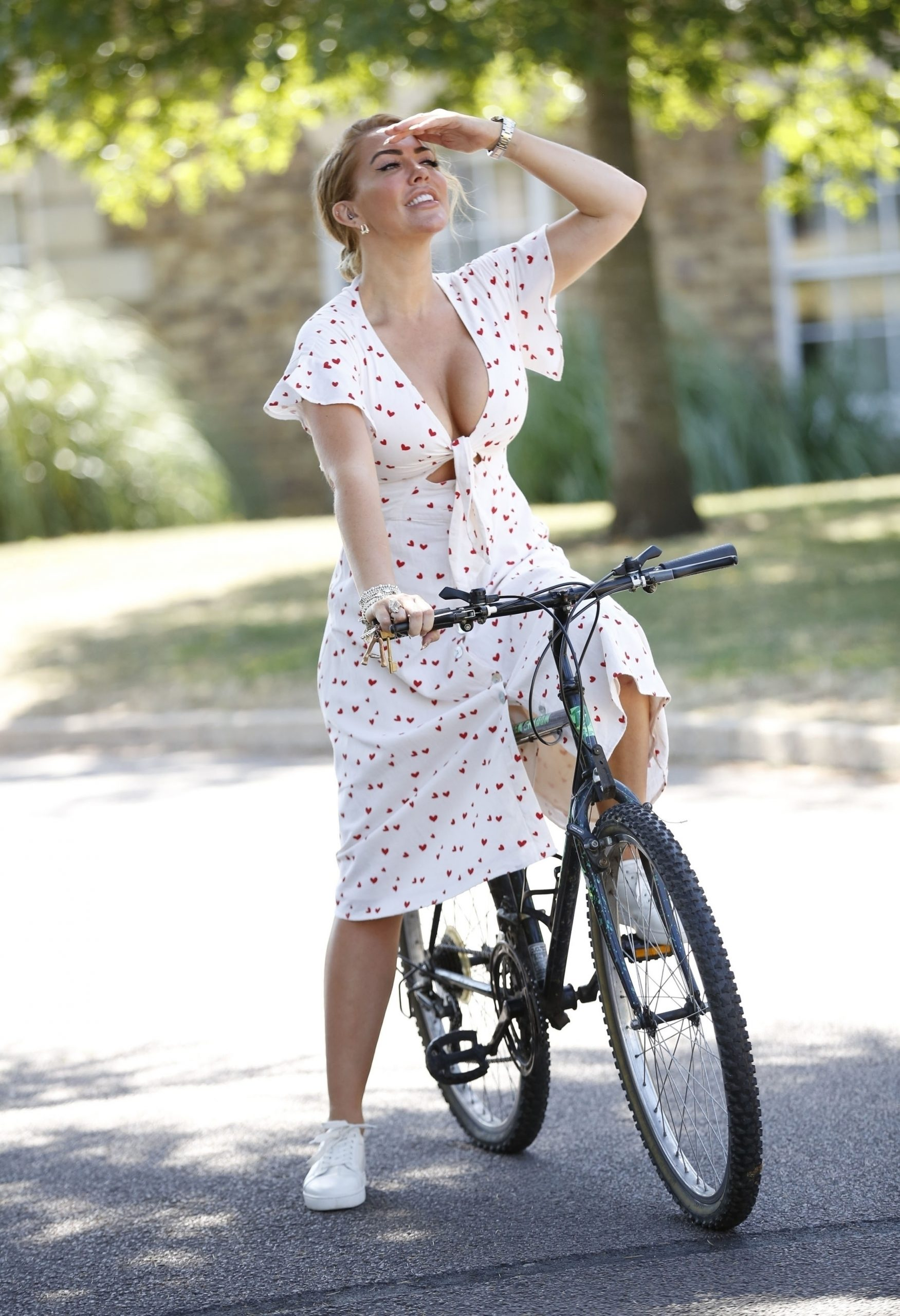 Aisleyne Horgan-Wallace - Out for a bike ride