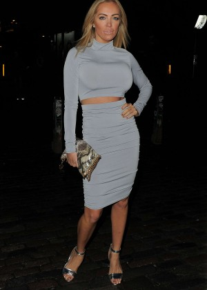 Aisleyne Horgan-Wallace - Playtech Launch Party at Gilgamesh in London