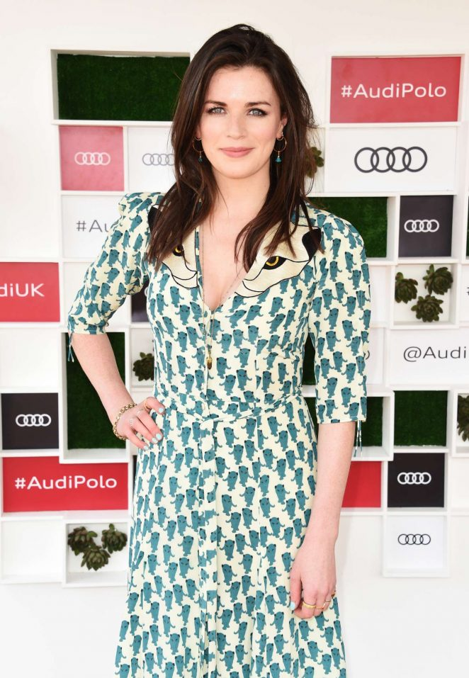 Aisling Bea - Audi Polo Challenge in Berkshire